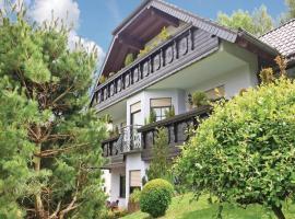 Two-Bedroom Apartment with a Fireplace in Kelberg, Kelberg (Mosbruch yakınında)