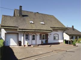 Apartment Katja - 07, Gonzerath (Morbach yakınında)