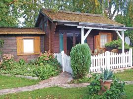 Holiday home Hohendorfer Chaussee Z, Zarnitz (Zemitz yakınında)