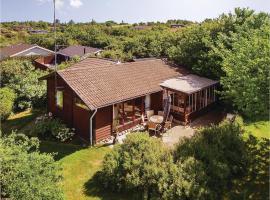Three-Bedroom Holiday Home in Farevejle, Fårevejle (Kårup yakınında)
