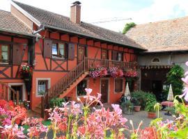 Chambres d'Hôtes Chez Mado Ottrott, Отротт (рядом с городом Boersch)