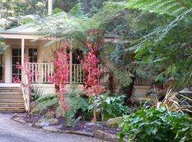 Myers Creek Cascades Luxury Cottages, Healesville (Healesville West yakınında)