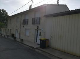 Gîte du vignoble Sidky, Lussac