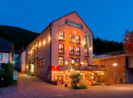 Hotel Goldenes Fass, Freudenberg am Main (Mönchberg yakınında)