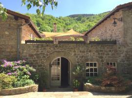 le Moulinage Chabriol, Saint-Pierreville (рядом с городом Marcols-les-Eaux)