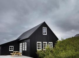 Black timber house, Borgarnes