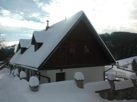 Chalupa Počátky, Jablonec nad Jizerou (Vysoké nad Jizerou yakınında)