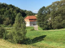Die Richtermühle, Saupsdorf (Mikulášovice yakınında)