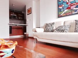 Moderno apartamento en Cedritos, Bogotá (La Cecilia yakınında)
