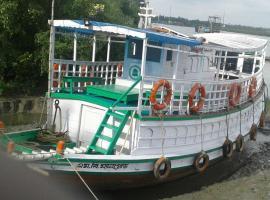 India Tours Only Sundarban House boat MB New Dolphin, Gosāba
