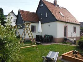Ferienhaus Sonneneck, Sebnitz (Mikulášovice yakınında)