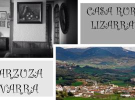 Casa Lizarrate, Abárzuza (Iruñela yakınında)