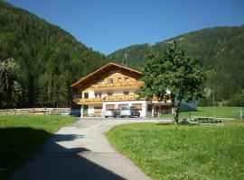 Pension Wiesenhof, Campo di Trens