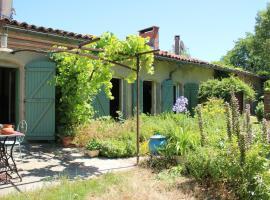 Aux Jardins de Fabie, Bourg-Saint-Bernard (рядом с городом Ланта)