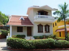 Villa with a pool in Goa, by GuestHouser 44976