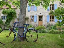 Le vieux vélo, Chaptuzat (рядом с городом Saint-Clément-de-Régnat)