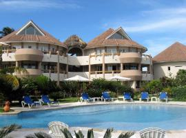 Luxury apartment with ocean view at the beach, Cabarete