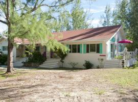 Moonflower Home, Gregory Town (Harbour Adası yakınında)