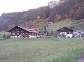 Holiday B&B Anita, Lütschental (Stalden yakınında)