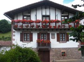 Casa Rural Bordaberea, Maya del Baztán (Errazu yakınında)