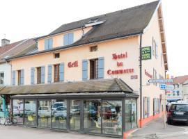 Hotel du Commerce, Pouilly-en-Auxois (рядом с городом Beurizot)