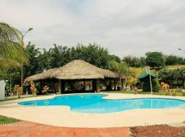Hotel Hacienda del Pedregal, Zacapa (рядом с городом El Rosario)