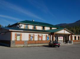 Valemount Hotel, Valemount (Mount Robson yakınında)