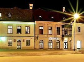 Hotel Arany Griff a Fő téren, Pápa (рядом с городом Gyarmat)