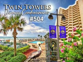 Twin Towers Three-Bedroom Apartment 504