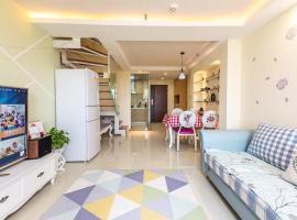 Sunshine Seaview Duplex Apartment, Xiamen (Dongdu yakınında)