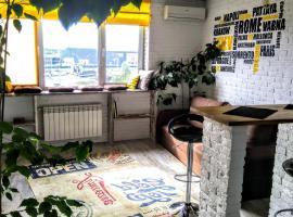 One-Bedroom Studio Heroiv Stalinhradu Avenue 2D