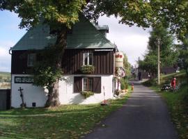Horská bouda Šubišák, Loučná pod Klínovcem (Loučná yakınında)