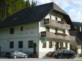 Gasthof-Pension zur Klause, Ratten (Sankt Kathrein am Hauenstein yakınında)