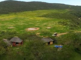 Indalu Game Reserve, Boggomsbaai (in de buurt van Kleinberg)