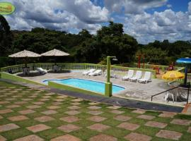 Hotel Pousada Campos Verdes, Piraju (Manduri yakınında)