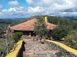 Casa Rural Altoventoso, Garcíaz (Cabañas del Castillo yakınında)