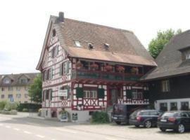 Hotel Restaurant Pizzeria Rotes Haus, Münsterlingen (Altnau yakınında)