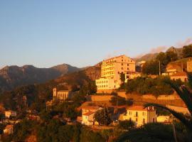 Hôtel Restaurant Sole e Monte, Cuttoli-Corticchiato (рядом с городом Peri)