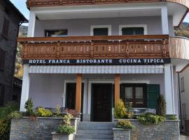 Hotel Franca, Tovo di Sant'Agata