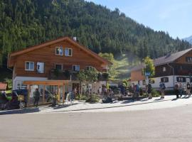 Bergsteiger-Hotel Grüner Hut, Bad Hindelang (Hinterstein yakınında)