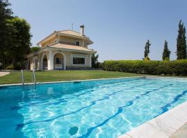 Villa with swimming pool and garden, Markopoulon