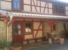 Gästehaus zum Bärenfang, Altengottern (Schönstedt yakınında)