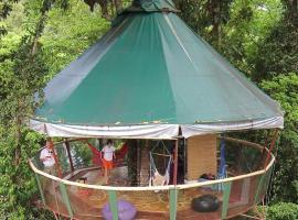 Nature Observatorio, Manzanillo (Gandoca yakınında)