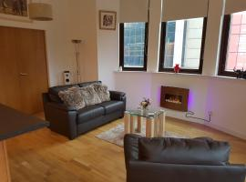 stunning 1 bed apt - glasgow city centre