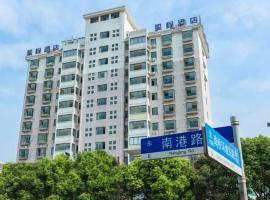 Starway Hotel Shanghai Fengxian Nanqiao East Huancheng Road, Fengxian (Huqiao yakınında)
