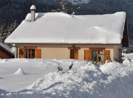 Holiday home Route du chateau, Mégevette (рядом с городом Habère-Lullin)