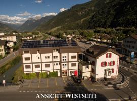 Hotel-Restaurant Bergheim, Raron (Mitthal yakınında)