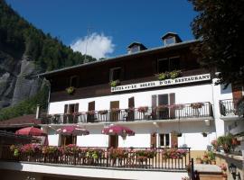 Hotel Le Soleil d'Or, La Giettaz