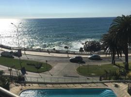 The best view to the Pacific Ocean, Viña del Mar (Población Vergara yakınında)