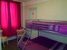 Hotel le Rallye, Soissons (рядом с городом Crouy)